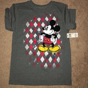 Mickey mouse boys shirt